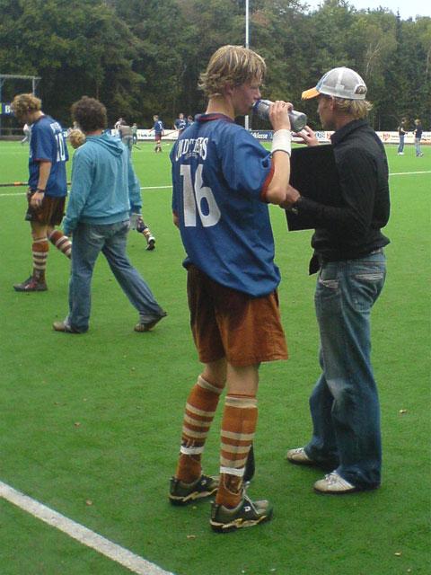 Tilburg Heren 1 tegen Rotterdam