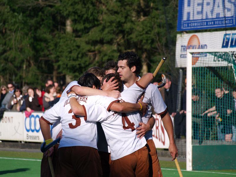 Image: Opnieuw een doelpunt voor TMHC Tilburg