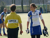 Image: Forward Hockey dames tegen HIC