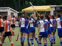 image: Hockey dames van Forward winnen van HIC