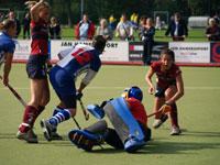 image: Hockey dames van Forward tegen HCKZ