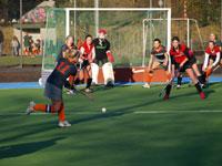 image: Hockey meiden van Were Di thuis tegen Concordia