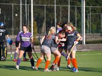 image: Hockey meiden van Were di winnen van Eindhoven