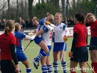 image: Hockey dames van Forward thuis tegen Nijmegen