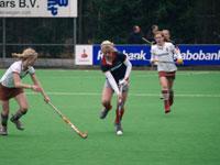image: Hockey wedstrijd tussen Tilburg en Were Di