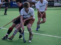 image: Hockey TMHC Tilburg JA1 wint van Amsterdam