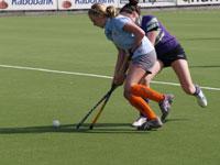 image: hockey meiden Were Di MB1 uit tegen Eindhoven