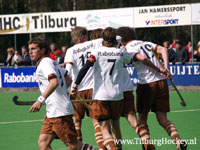 image: Tilburg Hockey heren winnen thuis van Den Bosch