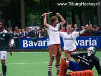 image: Tilburg Hockey heren winnen van Rotterdam