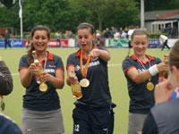 image: Hockey meiden Were Di MB1 pakken bij Zwart Wit kampioenschap