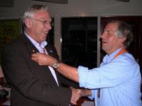 Nieuwe voorzitter WereDi ALV 2008