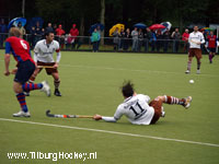 image: Hockey Heren Tilburg verliezen thuis van SCHC