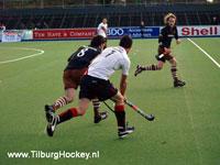 image: Hockey wedstrijd Amsterdam H1 - Tilburg H1