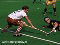 image: hockey heren van Tilburg verslaan thuis Den Bosch