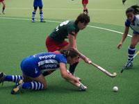 image: Hockey dames Forward verliezen eerste wedstrijd play offs