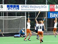 Tilburg D1 pakt winst op HDS D1 in eerste minuten (1-0)