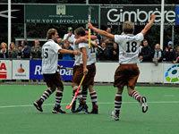 Tilburg Hockey heren pakken winst op Kampong H1 (2-0)