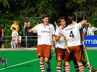 Hockey heren Tilburg in thriller langs SCHC H1 (5-3)