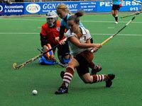 Dames Tilburg winnen thuis van Leiden D1 (4-1)
