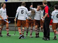 image: Tilburg hockey heren scoren gelijk tegen Bloemendaal