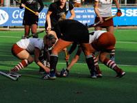image: Tilburg dames spelen gelijk tegen Zwart Wit