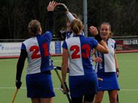 Forward hockey dames eenvoudige winst op EHV D1 (8-2)