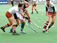 Slechte start Hockey dames Tilburg  tegen Alphen D1 (0-1)