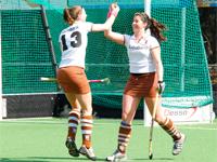 image: Hockey dames van Tilburg winnen thuis van Alliance