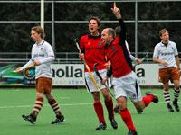 Laren H1 wint uit bij Tilburg