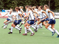Selectie teams HC Tilburg spaarzaam in actie bij T-Trophy