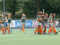 Sterk begin Were Di D1 tegen Zwolle D1 (4-1)