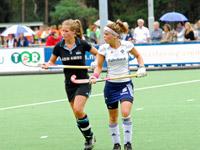 HC Tilburg dames tegen HGC