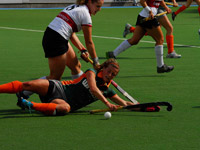 Hockey Were Di dames tegen Union D1