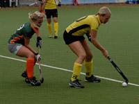 Hockey Dames Were Di D1 thuis tegen Terriers D1