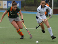 Hockey dames Were Di D1 tegen Push D1