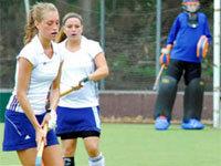 Hockey Dames HC Tilburg D2 landskampioen