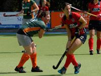 Were Di Dames 1 thuis tegen Nijmegen D1
