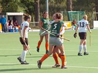 Were Di D1 hockey dames tegen Alecto D1