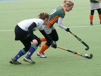 Hockey dames Were Di D1 winnen van Eindhoven (3-1)