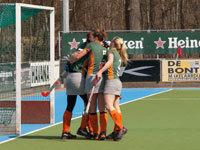 Hockey dames Were Di D1 knokt tot het eind (3-1)