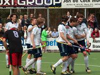 Hockey heren van HC Tilburg starten het hockey feest (2-1)