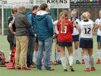 Vertrek coach HC Tilburg D1