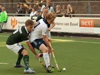 Heren HC Tilburg komen te kort tegen HC Rotterdam (0-3)