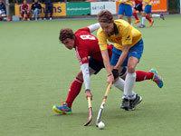 Drieluik Were Di met oa HC Tilburg en MHC Oss