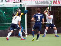 Pinoké H1 te sterk voor hockey heren HC Tilburg