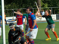 Spannende wedstrijd Were Di H1 – SCHC H1 (2-2)