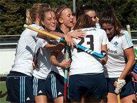 Verdiende winst hockey dames Tilburg D1 (2-1)