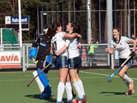 Dames HC Tilburg D1 winnen van Zwolle D1