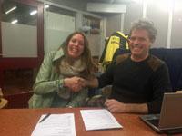 Janneke Woudenberg contract