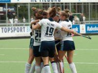 Dames HC Tilburg D1 komen net te kort (1-2)